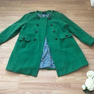 Kelly green coat✨plus size